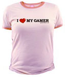 I love my gamer tee - also available in Men's sizes!