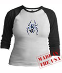 GamerWidow long sleeved raglan - also available in Men's sizes!